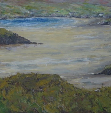 Landscape in Scotland on Lewis and Harris island, Hebridies. To sale