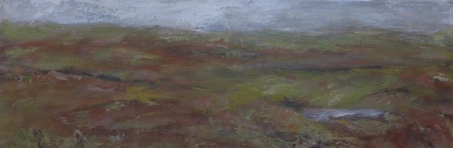 Autumn landscape in Scotland, on Harris and Lewis island.To sale